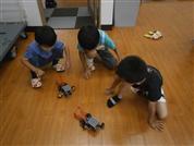 ロボット授業風景1