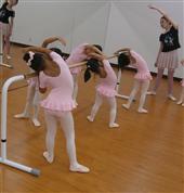 バレエ授業風景1