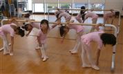 バレエ授業風景2